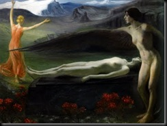 Paul Schad-Rossa (1862 - 1916) Into Eternity