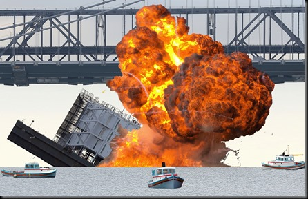 google-barge-sinking